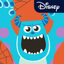 Disney Stickers: Monsters, Inc.