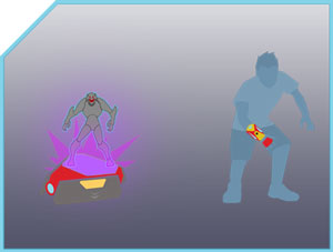 Playmation - Enemy is revealed.