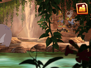 The Lion Guard Cave Wall Mural image